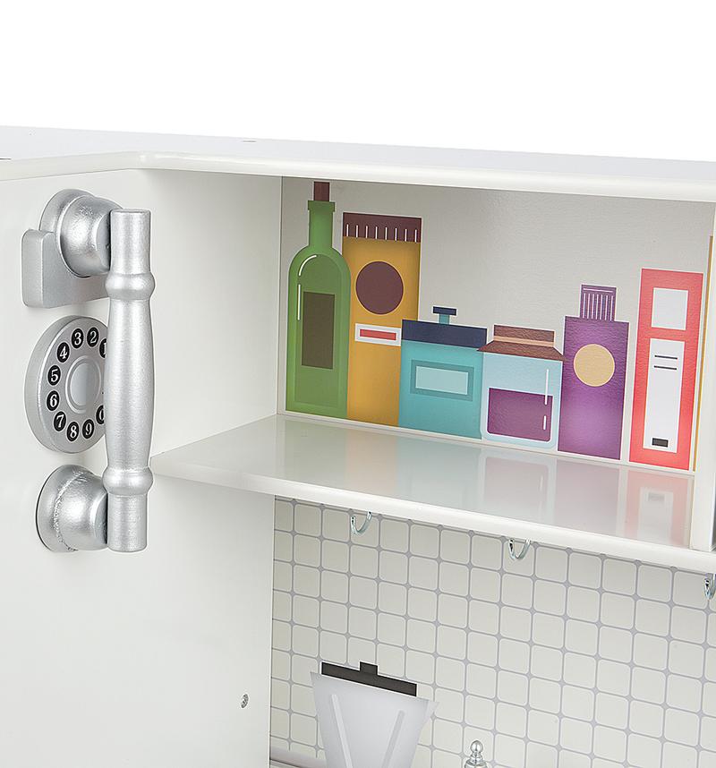 Дизайн кухни Edufun TX1170 на стыке старинной классики и современности