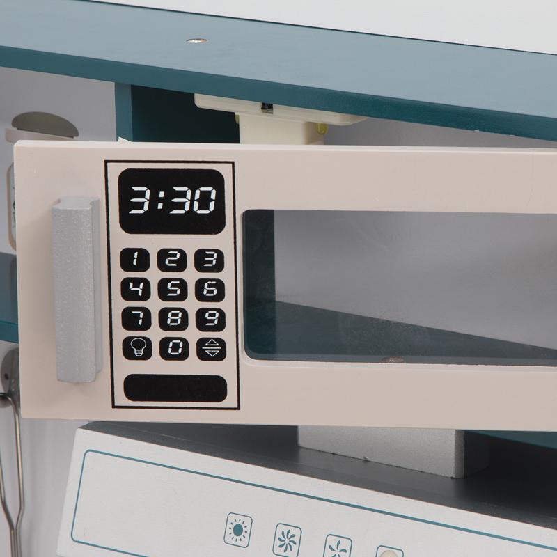 Дверь микроволновки у кухни Игруша TX1191 открывается