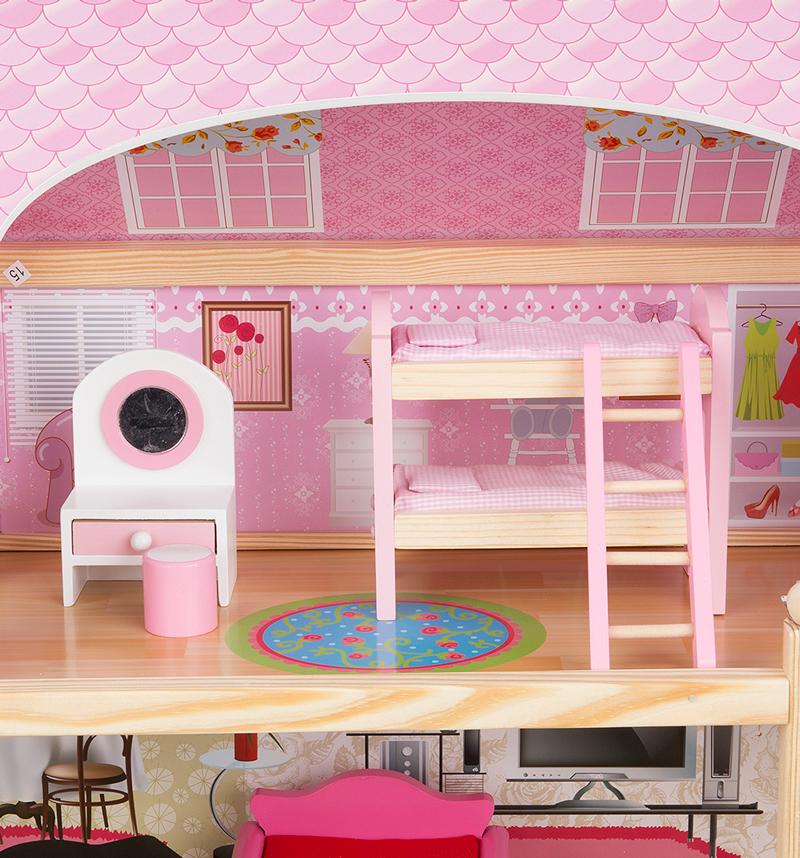 Спальная комната домика Edufun EF 4110