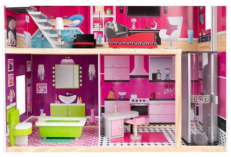 Кухонная и ванная комнаты домика Edufun EF4118 115 см