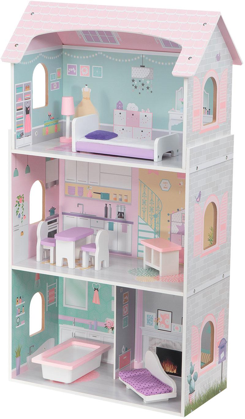 Трехэтажный домик для кукол Edufun EF4121