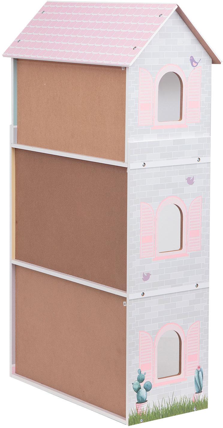 Домик с мебелью Edufun EF4121 вид сзади