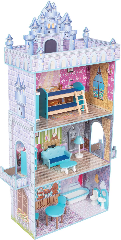 Кукольный домик Игруша с мебелью 141 см TX1095