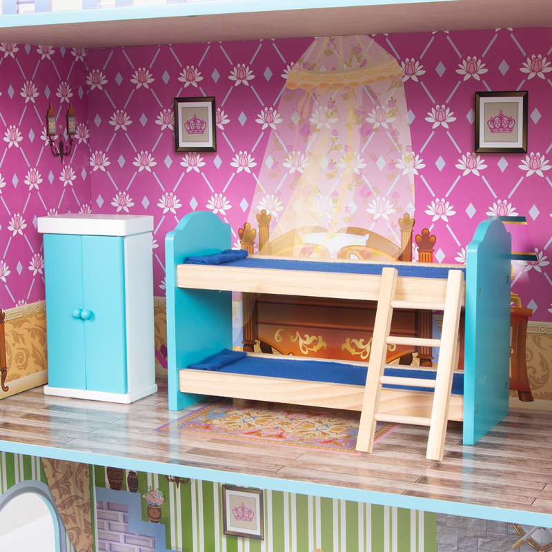Кукольный домик Игруша 141 см TX1095 вид на 3-й этаж