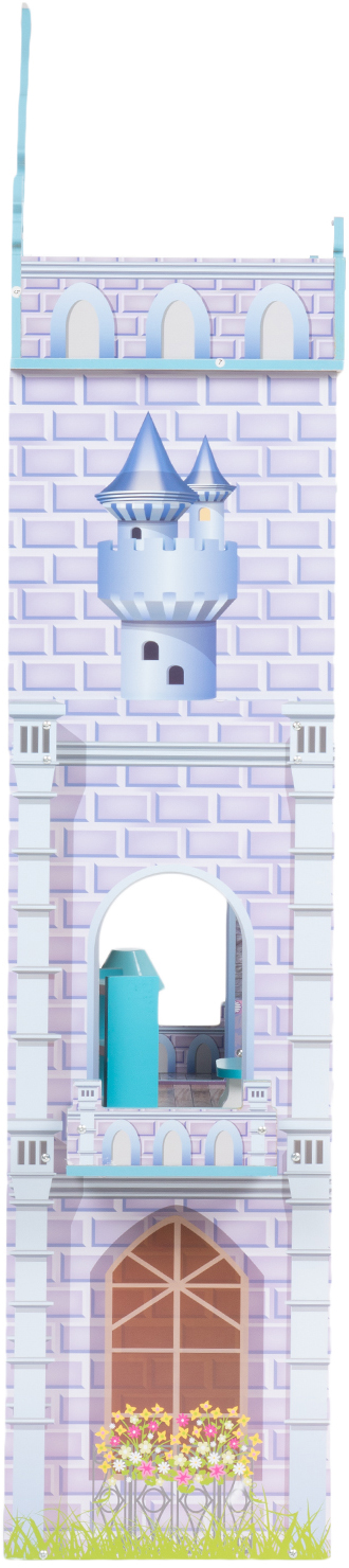 Кукольный домик Игруша с мебелью 141 см TX1095 вид сбоку